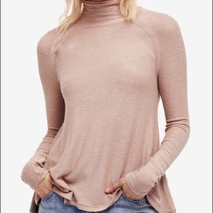 Free People Mock Turtleneck